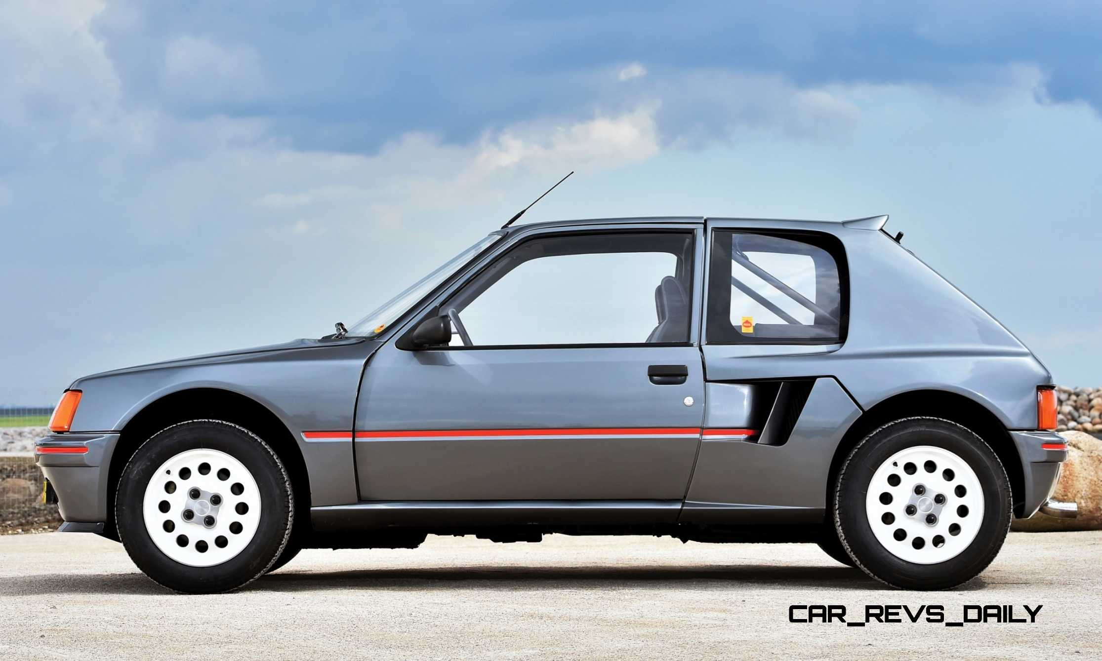1984 peugeot 205 turbo 16 is most valuable post war pug. Black Bedroom Furniture Sets. Home Design Ideas