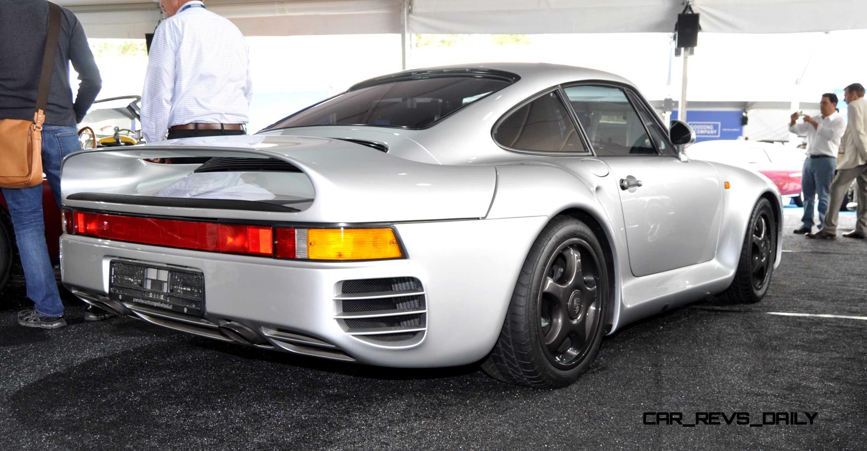 1988 Porsche 959 Komfort Gooding 2014