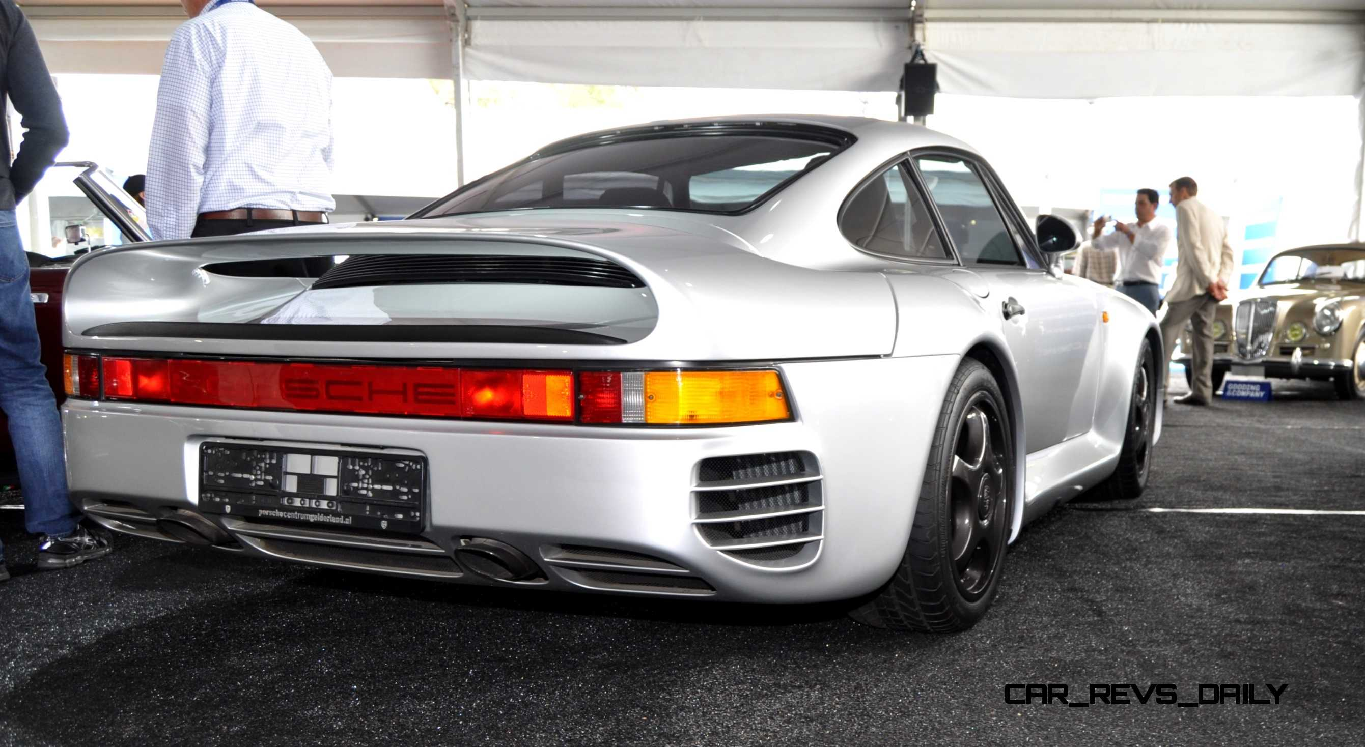 Porsche 959 For Sale >> 1988 Porsche 959 Komfort Gooding 2014