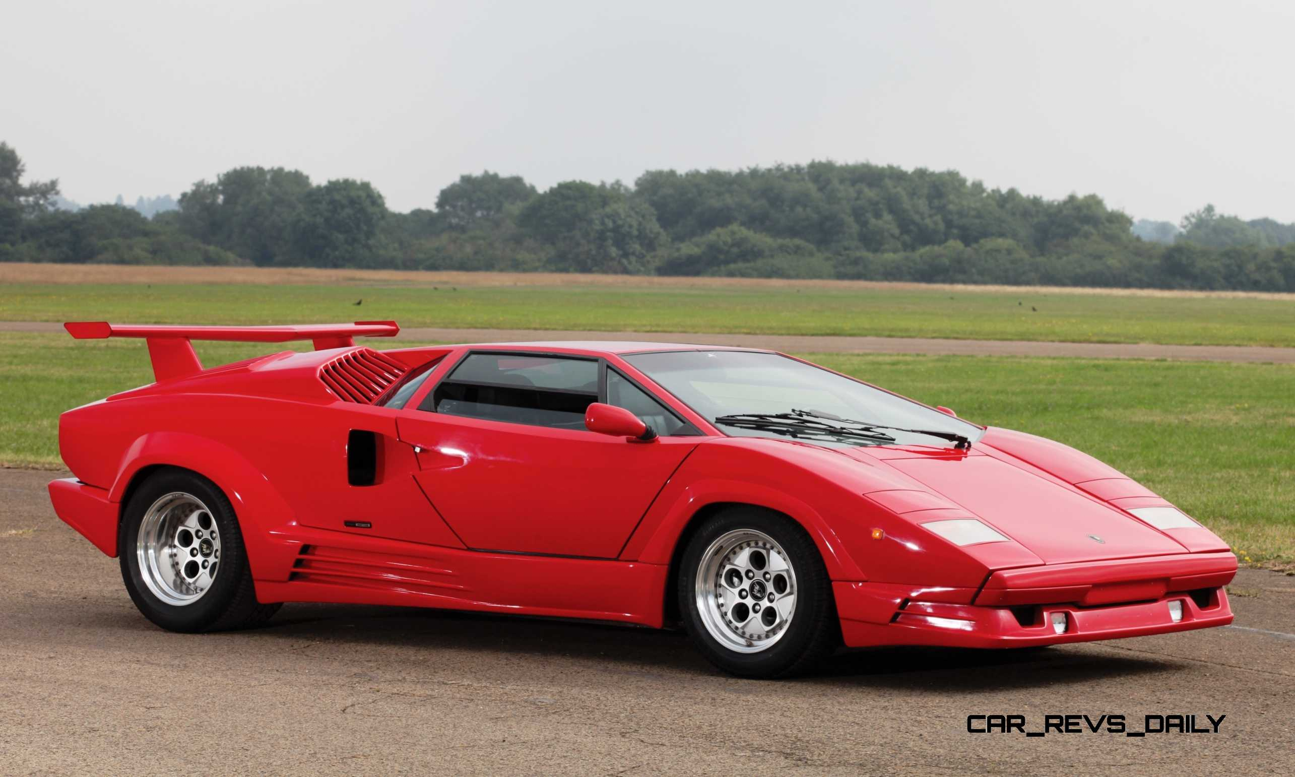 1990 Lamborghini Countach 25th Anniversary Edition Brings 358k At Rm London