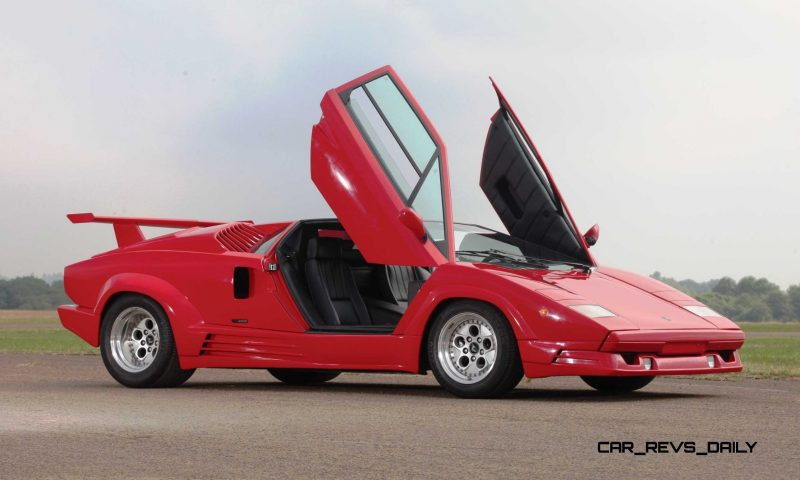 1990 Lamborghini Countach 25th Anniversary Edition 17