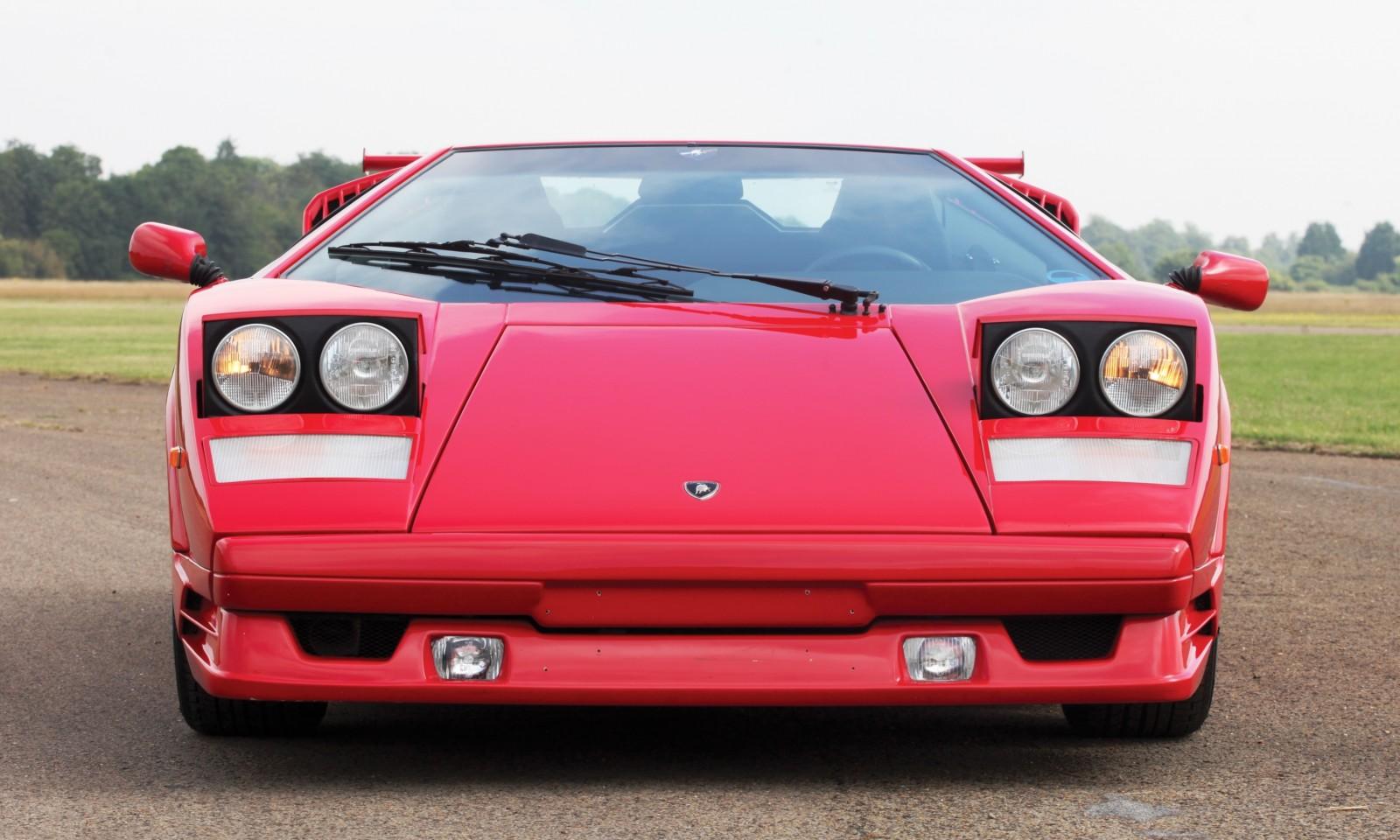 1990 Lamborghini Countach 25th Anniversary Edition 18