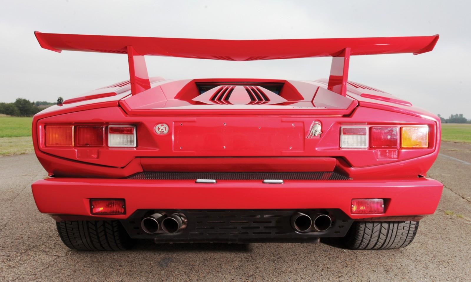 1990 Lamborghini Countach 25th Anniversary Edition 19
