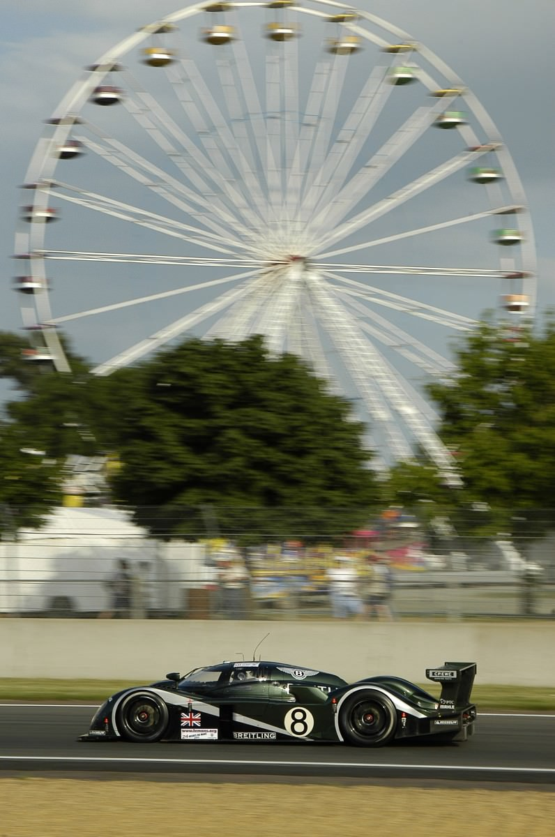 2001 Bentley Speed 8 LMP1 12