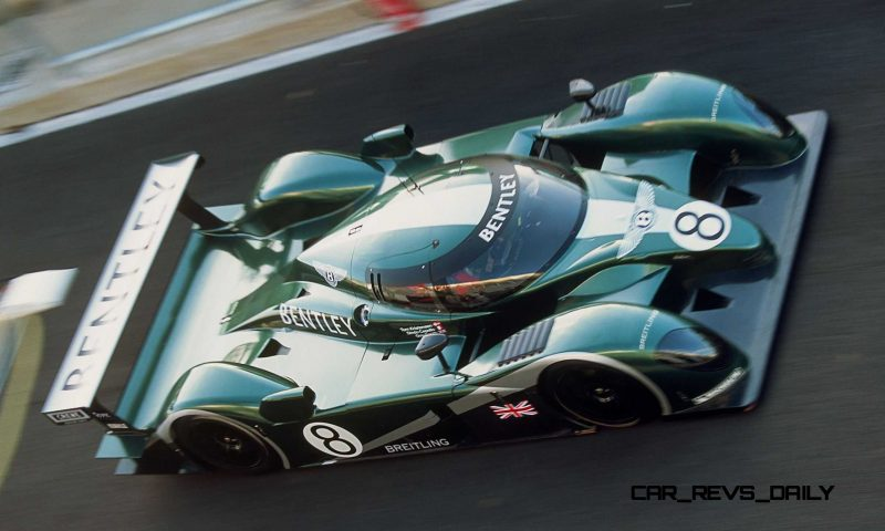 2001 Bentley Speed 8 LMP1 3
