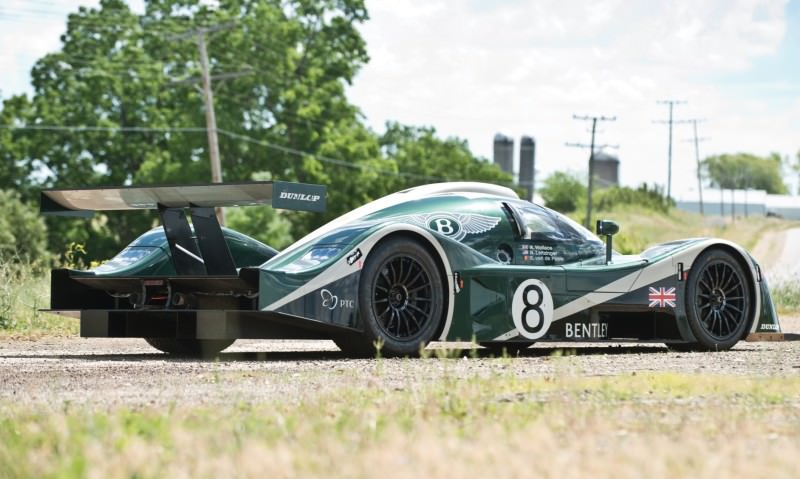 2001 Bentley Speed 8 LMP1 30