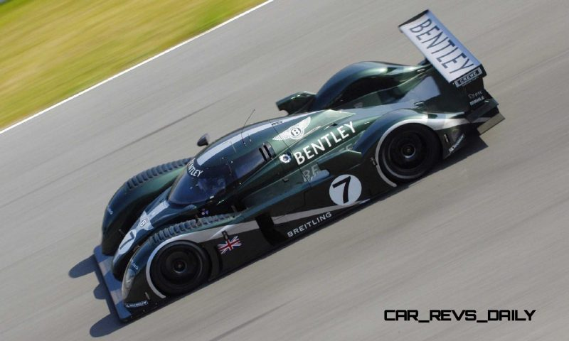 2001 Bentley Speed 8 LMP1 4