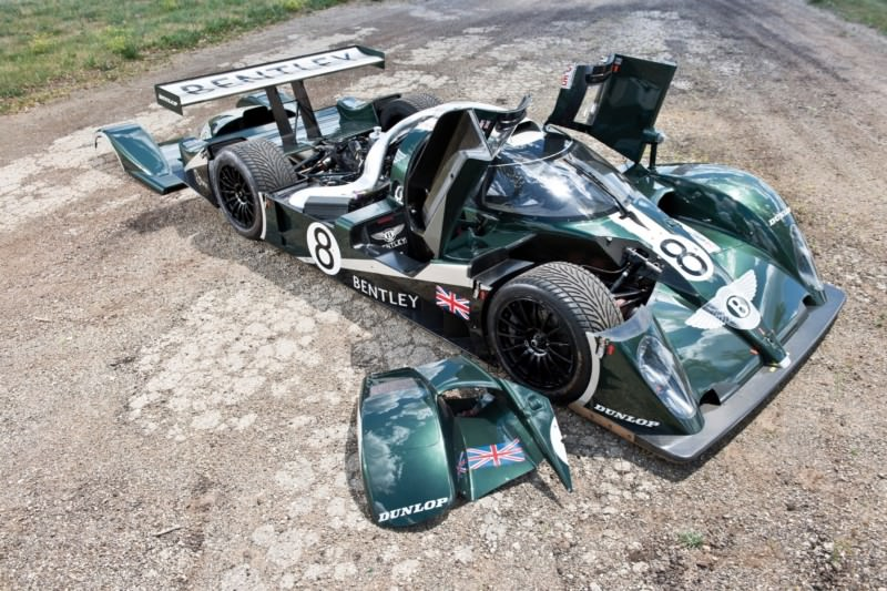 2001 Bentley Speed 8 LMP1 46