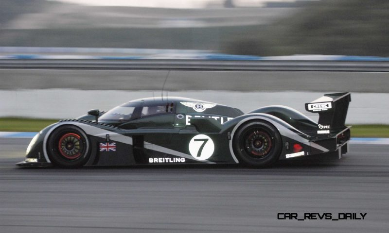 2001 Bentley Speed 8 LMP1 5