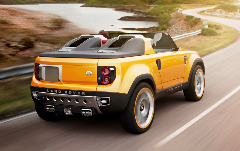 Concept Flashback - Part Two - 2011 Land Rover DC100 Sport