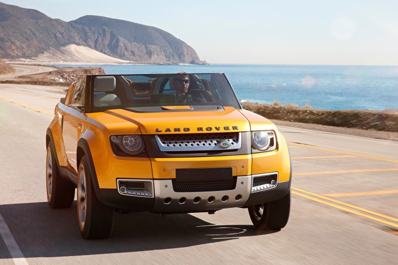 2011 Land Rover DC100 Sport 58