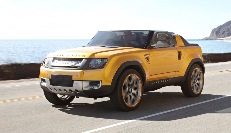 2011 Land Rover DC100 Sport 60
