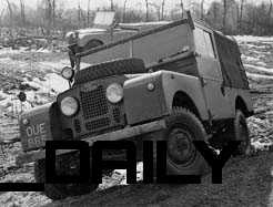 "1954 Land Rover Series 1 86"" SWB"