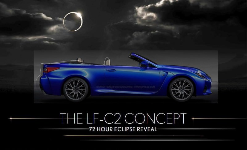 Holy Wow! Lexus LF-C2 Teasing RC350 Convertible Ahead of LA Show Holy Wow! Lexus LF-C2 Teasing RC350 Convertible Ahead of LA Show Holy Wow! Lexus LF-C2 Teasing RC350 Convertible Ahead of LA Show