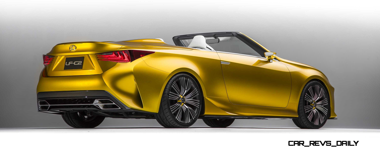 2014 Lexus LFC2 Concept Cabrio Is Truly Miraculous - A Design So ...
