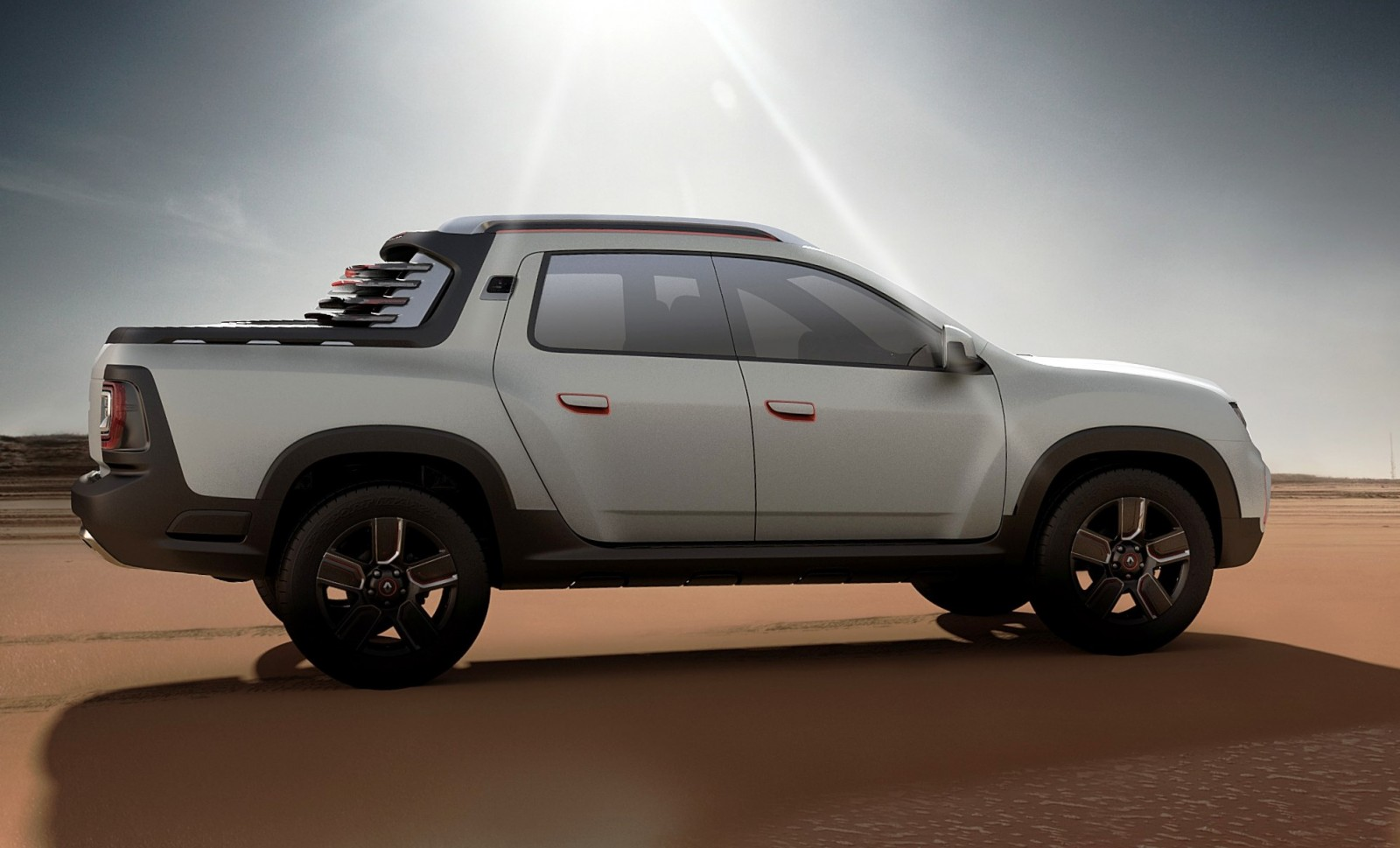2014 Renault Dacia Duster Oroch 4wd Pickup Truck 11
