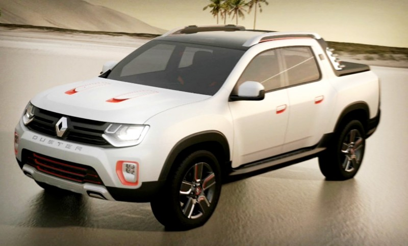 2014 Renault-Dacia DUSTER OROCH 4WD Pickup-Truck 16