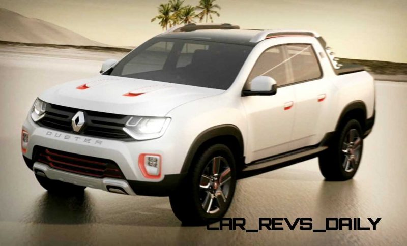 2014 Renault-Dacia DUSTER OROCH 4WD Pickup-Truck 19