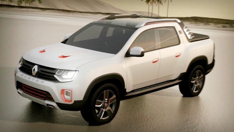 2014 Renault-Dacia DUSTER OROCH 4WD Pickup-Truck 20