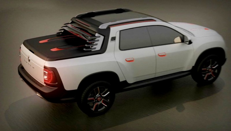 2014 Renault-Dacia DUSTER OROCH 4WD Pickup-Truck 23