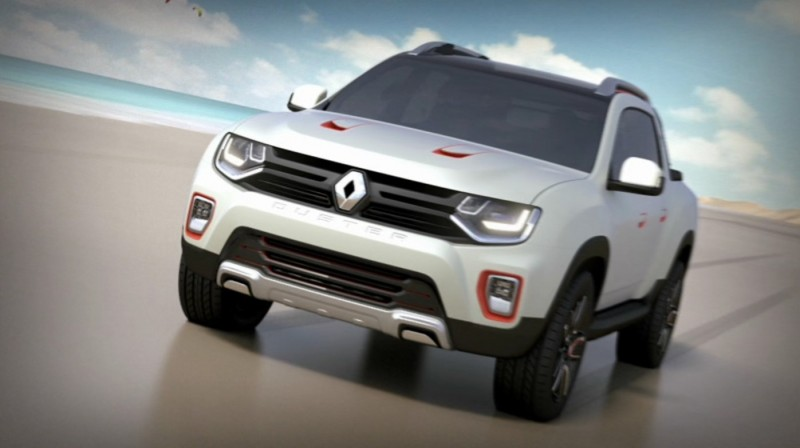 2014 Renault-Dacia DUSTER OROCH 4WD Pickup-Truck 32