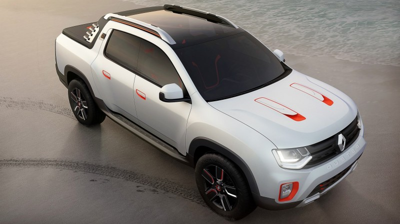 2014 Renault-Dacia DUSTER OROCH 4WD Pickup-Truck 6