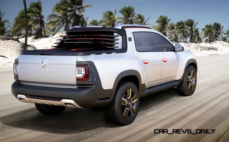 2014 Renault-Dacia DUSTER OROCH 4WD Pickup-Truck 8