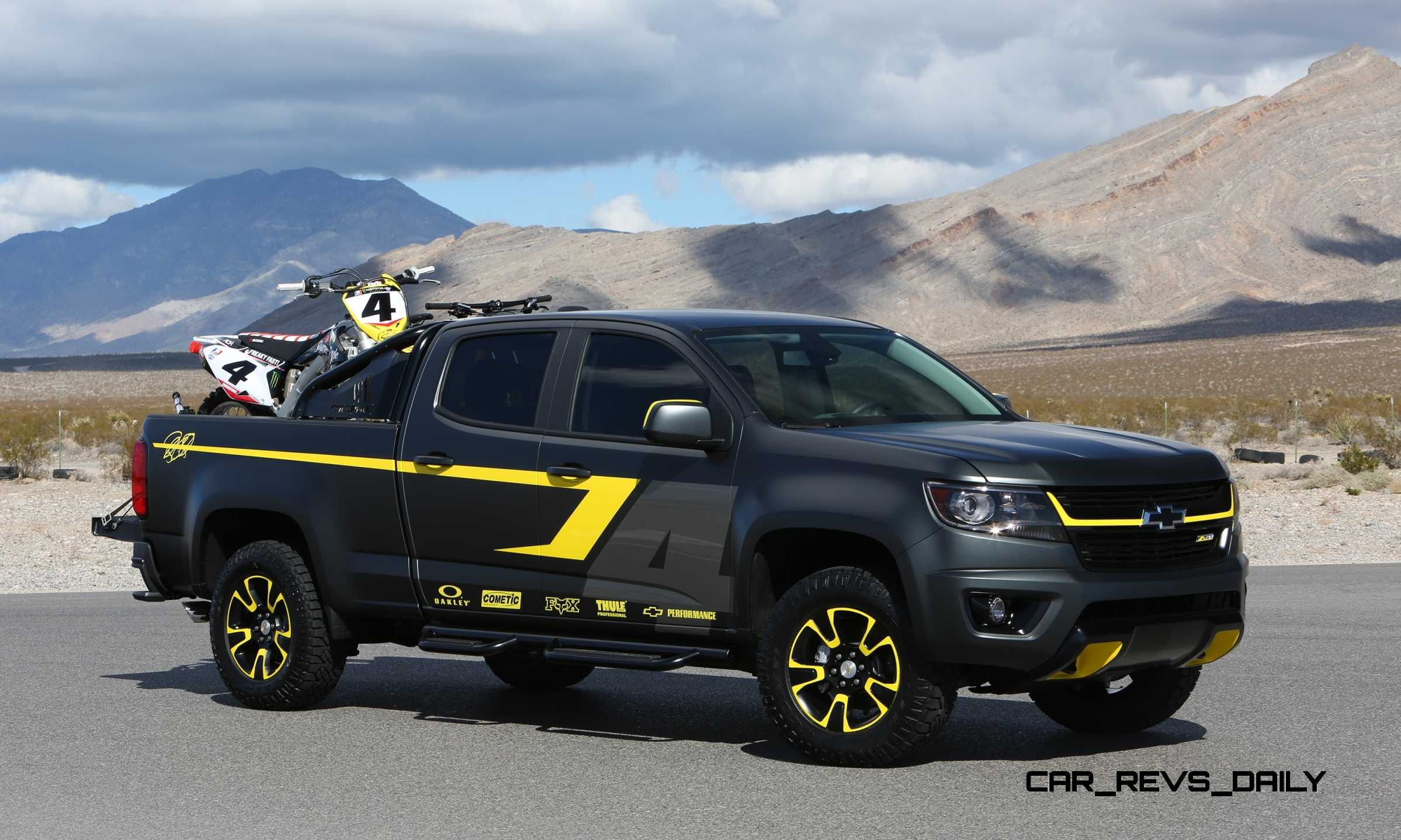 2015 chevrolet colorado motocross concept by by ricky carmichael. Black Bedroom Furniture Sets. Home Design Ideas