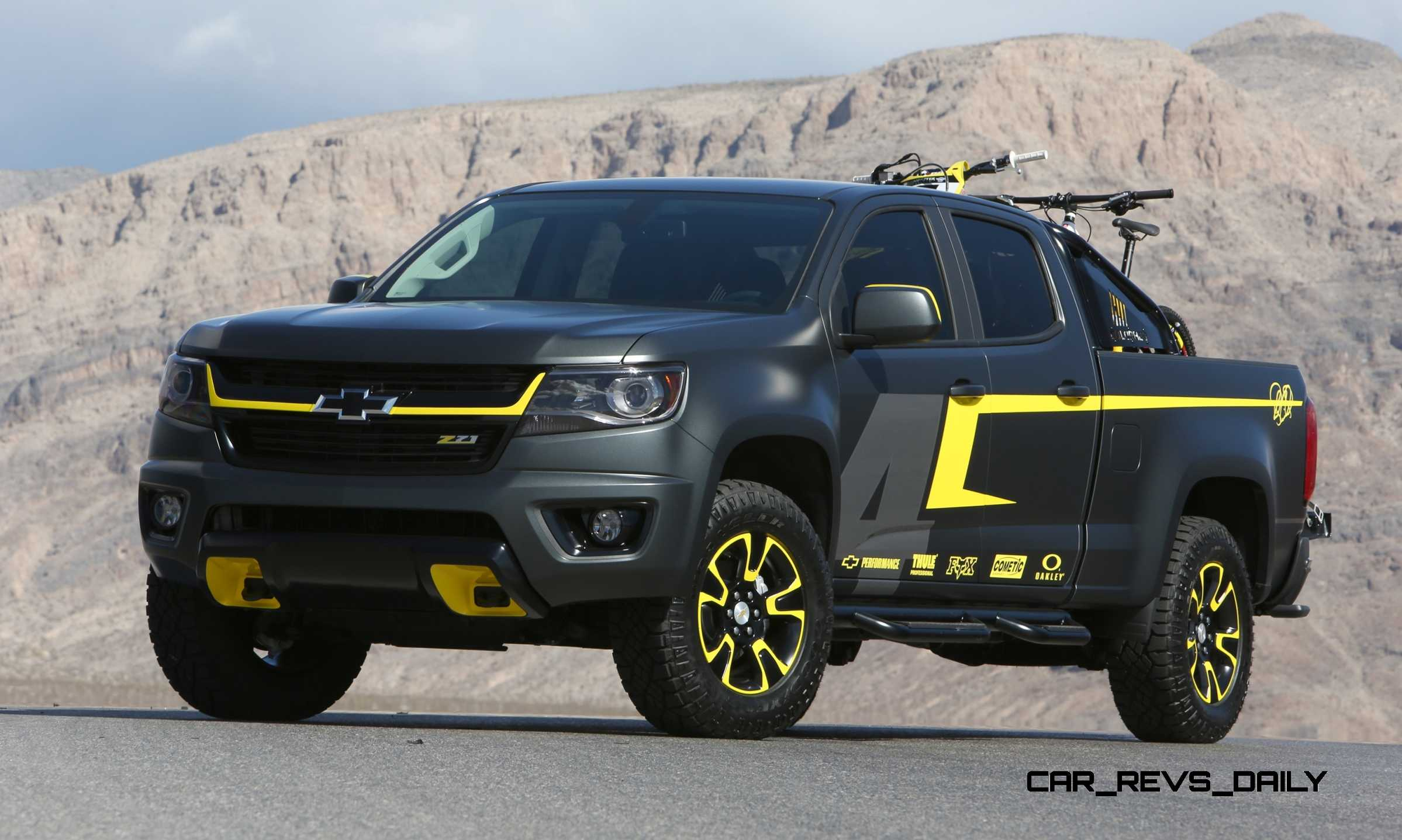 2015 Chevrolet Colorado Motocross Concept By By Ricky