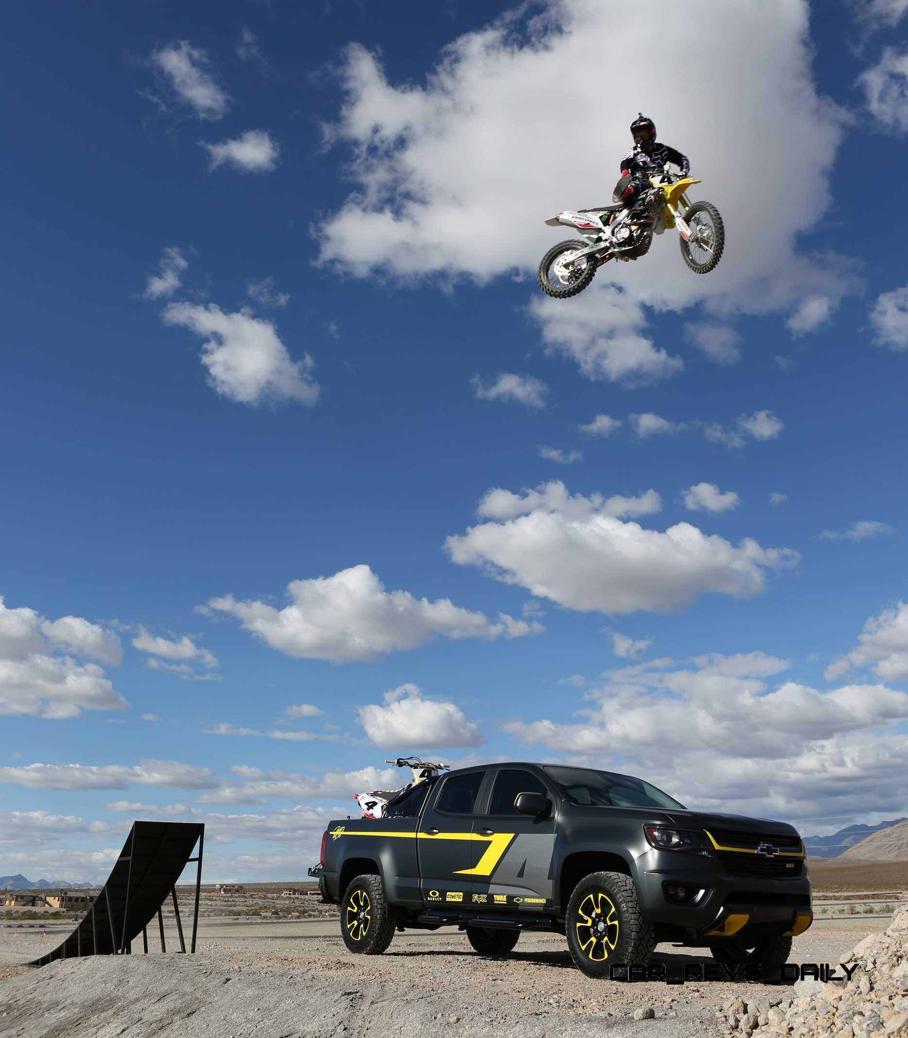 2015 Chevrolet Colorado Motocross Concept by By Ricky ...