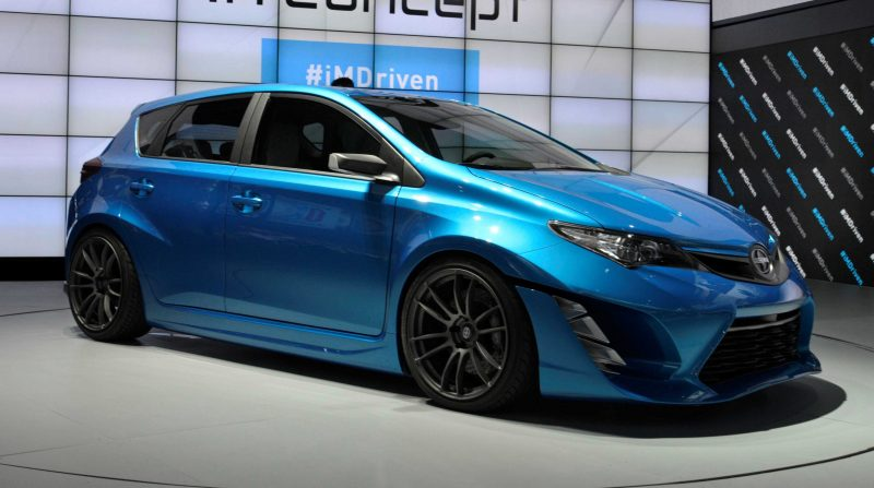 2014 Scion iM Concept Heading for US Showrooms in Summer 2015 2