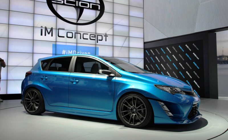 2014 Scion iM Concept Heading for US Showrooms in Summer 2015 3