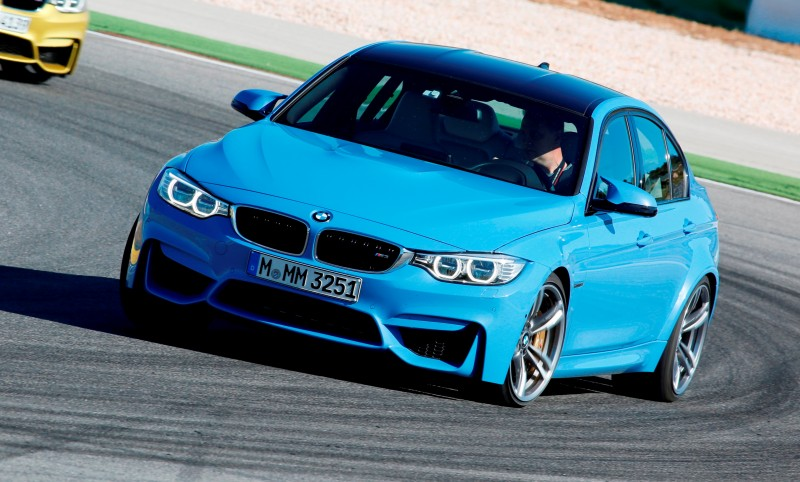 2015 BMW M3 Options and Colors Guide