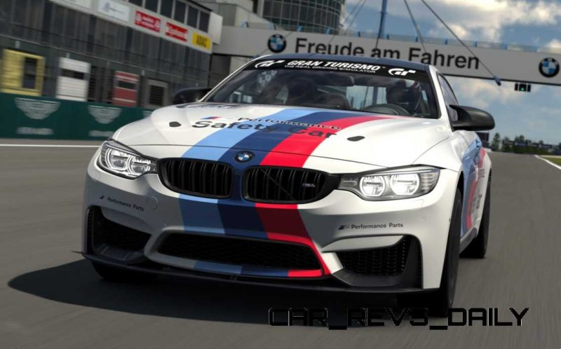 2015 BMW M4 Safety Car 1