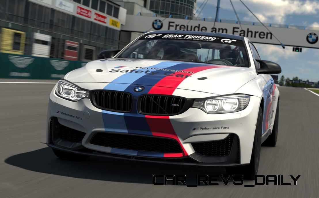 2015 BMW M4 Safety Car 1
