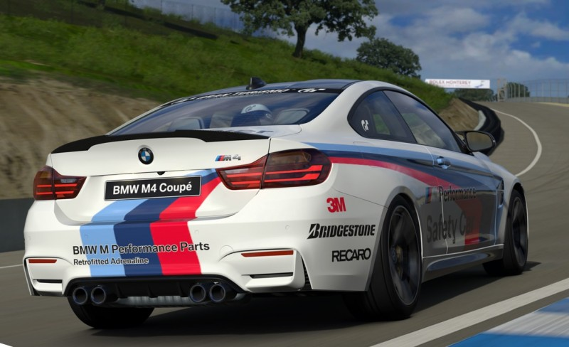 2015 BMW M4 Safety Car 3