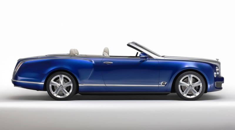 2015 Bentley Grand Convertible is New Ragtop Mulsanne Flagship 1