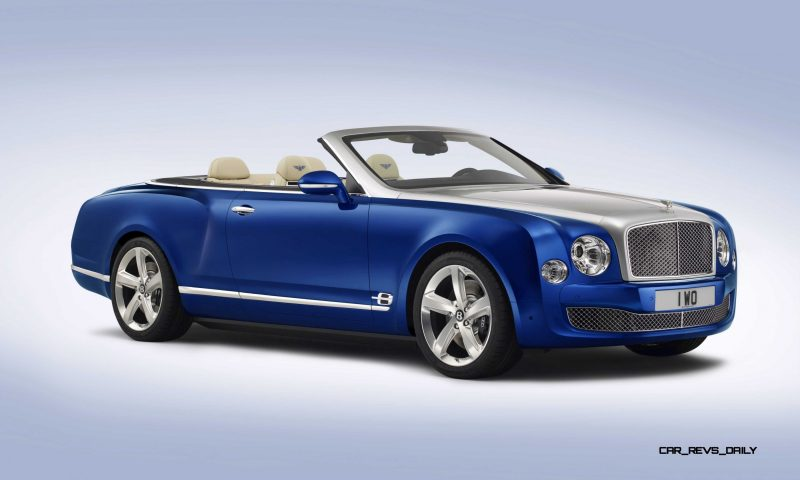 2015 Bentley Grand Convertible is New Ragtop Mulsanne Flagship 3