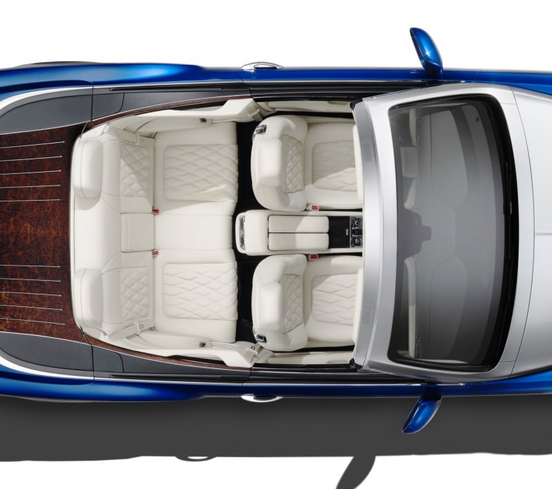 2015 Bentley Grand Convertible is New Ragtop Mulsanne Flagship 6-crop