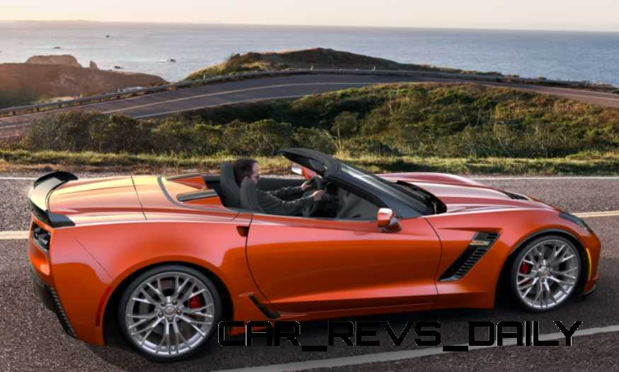 2015 CHevrolet Corvette Z06 Convertible -  Visualizer of All COLORS and WHEELS 1