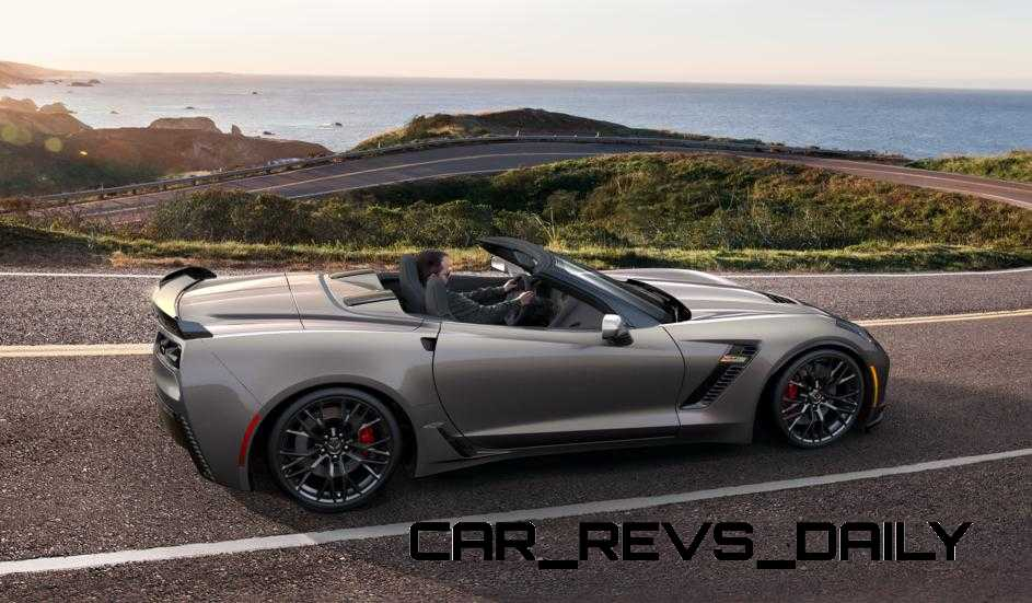 2015 CHevrolet Corvette Z06 Convertible -  Visualizer of All COLORS and WHEELS 12