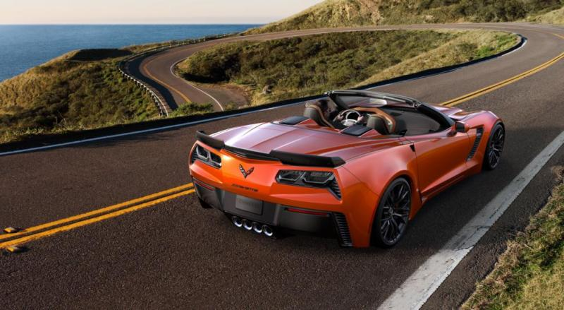 2015 CHevrolet Corvette Z06 Convertible -  Visualizer of All COLORS and WHEELS 14