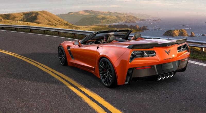 2015 CHevrolet Corvette Z06 Convertible -  Visualizer of All COLORS and WHEELS 15