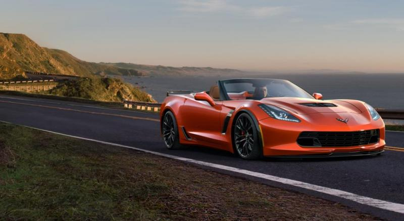 2015 CHevrolet Corvette Z06 Convertible -  Visualizer of All COLORS and WHEELS 16