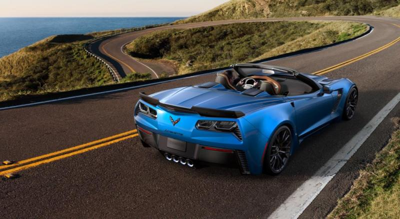 2015 CHevrolet Corvette Z06 Convertible -  Visualizer of All COLORS and WHEELS 18