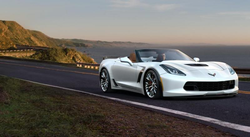 2015 CHevrolet Corvette Z06 Convertible -  Visualizer of All COLORS and WHEELS 25