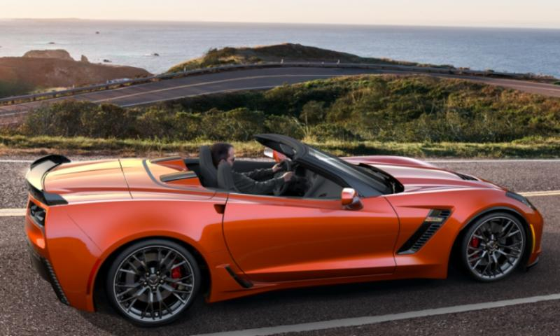 2015 CHevrolet Corvette Z06 Convertible -  Visualizer of All COLORS and WHEELS 3