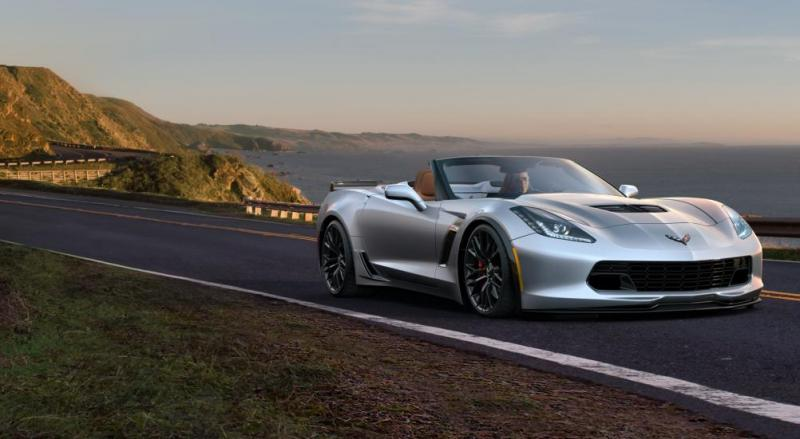 2015 CHevrolet Corvette Z06 Convertible - Visualizer of All COLORS and