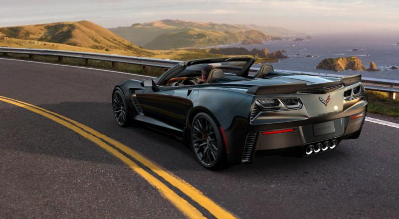 2015 CHevrolet Corvette Z06 Convertible -  Visualizer of All COLORS and WHEELS 43