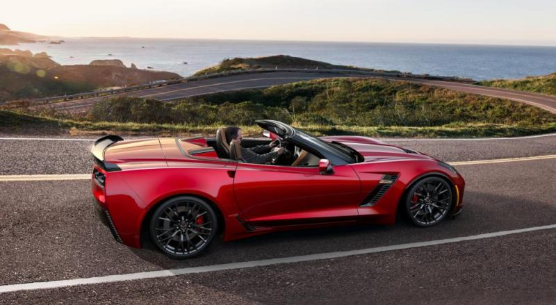 2015 CHevrolet Corvette Z06 Convertible -  Visualizer of All COLORS and WHEELS 45